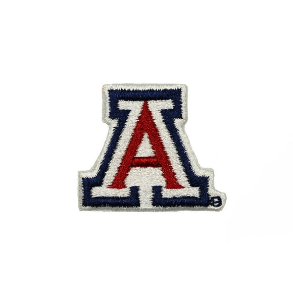 University of Arizona Logo Patch College Tucson UA Embroidered Iron On Applique