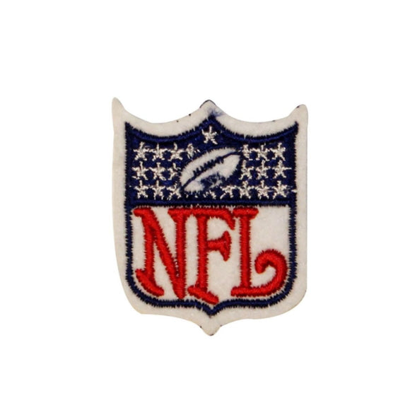 Classic NFL Logo Patch Teams Sports Net Football Embroidered Iron On Applique