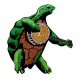 Grateful Dead Turtle Playing Banjo Patch Band Terrapin Station Iron On Applique
