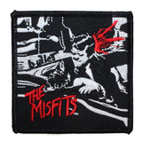 The Misfits Bullet Artwork Patch Band Punk Rock Fan Embroidered Iron On Applique