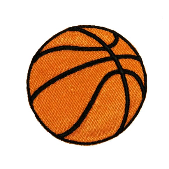 Basketball Patch Sport Hoop Dribble Ball Team Embroidered Iron On Applique