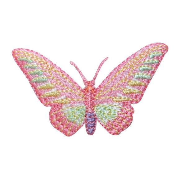 ID 2346 Fairy Butterfly Patch Garden Flying Bug Embroidered Iron On Applique