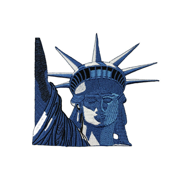 ID 1916 Statue of Liberty American Patch National Monument Iron On Applique