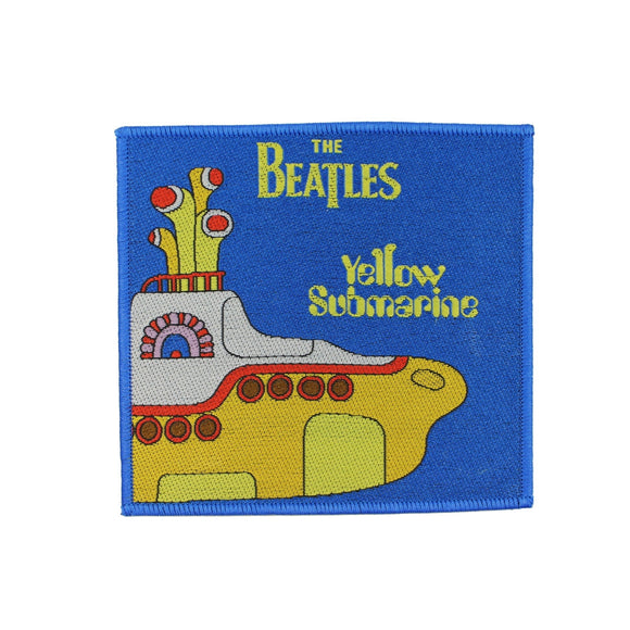 The Beatles Yellow Submarine Patch Pepperland Movie Cartoon Sew On Applique