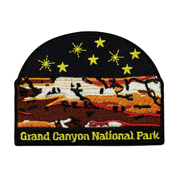 Grand Canyon National Park Patch US Travel Badge Embroidered Iron On Applique