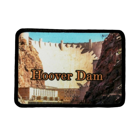 Hoover Dam Patch Landmark Nevada Arizona Travel Dye Sublimation Iron On Applique