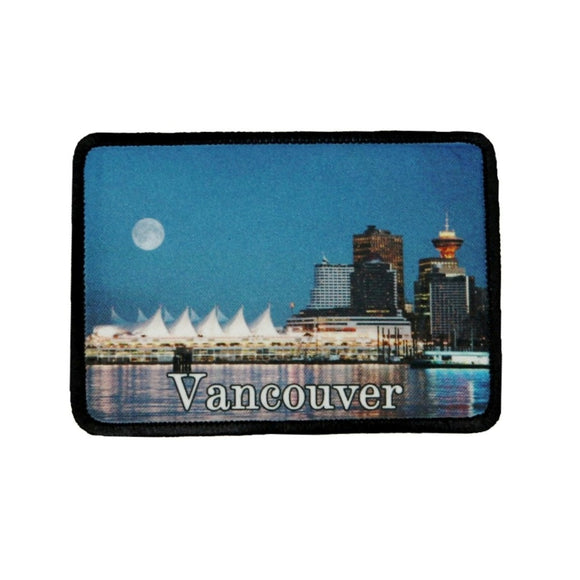Vancouver Canada Patch British Columbia Travel Dye Sublimation Iron On Applique