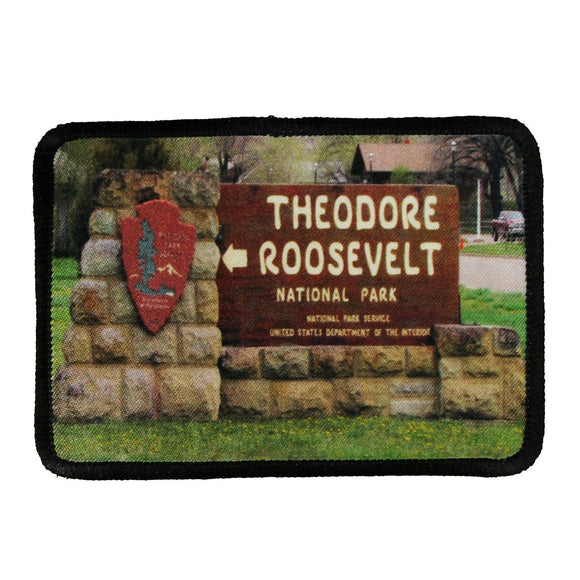 Theodore Roosevelt Nation Park Patch Travel Dye Sublimation Iron On Applique