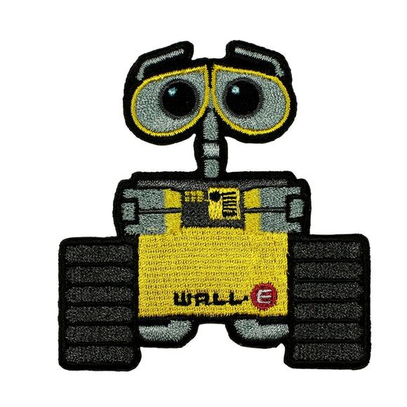 Disney Pixar WALL-E Patch Trash Compactor Robot Embroidered Iron On Applique