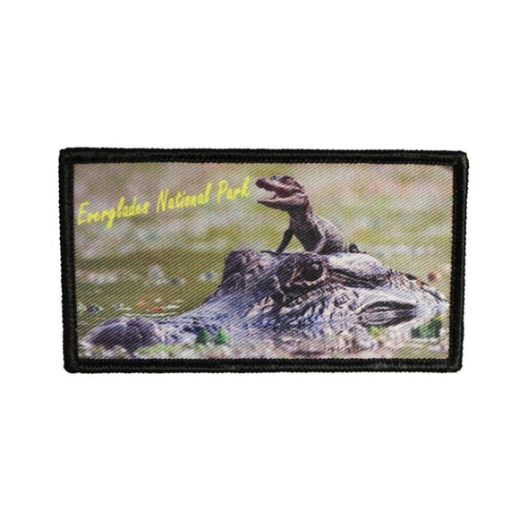 Everglades National Park Patch Travel Florida Dye Sublimation Iron On Applique
