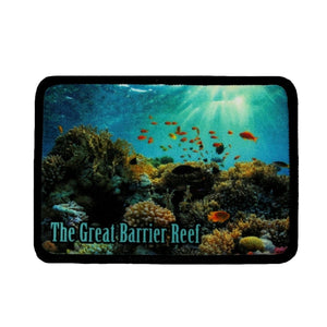 Great Barrier Reef Australia Patch Coral Travel Dye Sublimation Iron On Applique