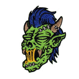 Artist Reed Creepy Zombie Embroidered Iron On Badge Applique Patch