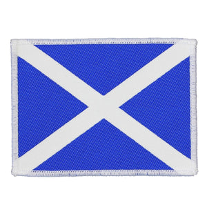 Scotland Country Flag Patch National Travel Badge Europe Woven Sew On Applique