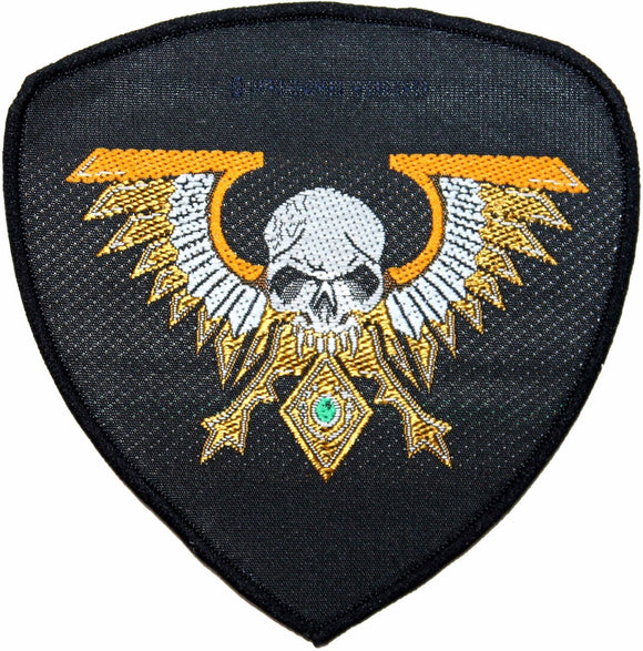 Warhammer Patch 40k Space Marine Legion Campaign Imperial Badge Sew On Applique