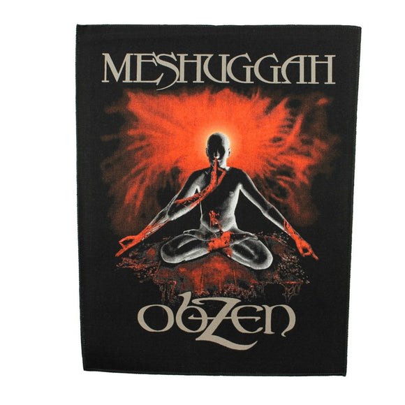 XLG Meshuggah Obzen Back Patch Progressive Metal Band Jacket Sew On Applique