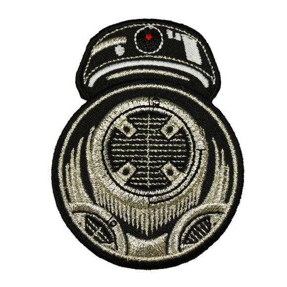 Disney Star Wars The Last Jedi BB-9E Patch Droid New Movie Embroidered Iron On