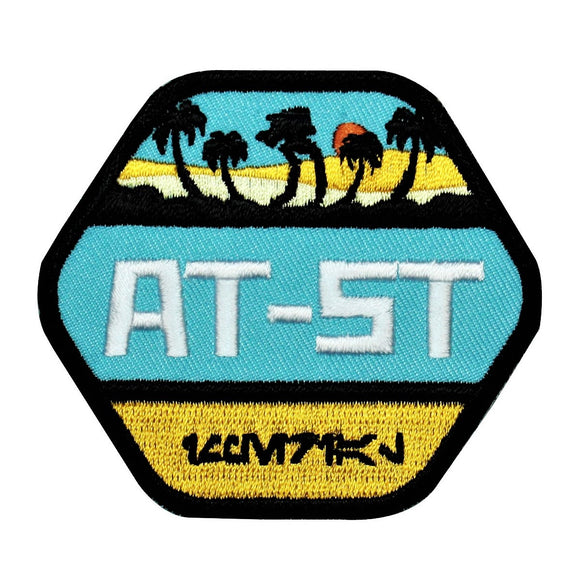 Disney Star Wars Walker AT-ST Badge Patch Officially Licensed Iron On Applique