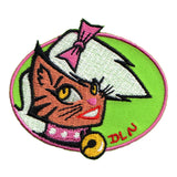 Cat Face Girl Patch Furry Tiger Lady Artist Dean Lee Norton Iron On Applique
