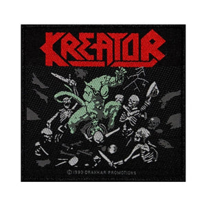 Kreator Pleasure to Kill Patch Album Art Thrash Metal Band Woven Sew On Applique