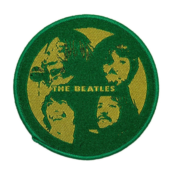 The Beatles Let it be Patch Band Album Pop Art Rock Music Woven Sew On Applique