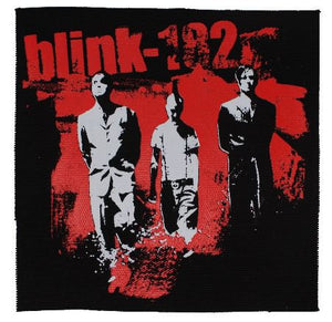 Blink 182 Classic Band Line Up Patch Punk Rock Merchandise Loose Printed Sew On