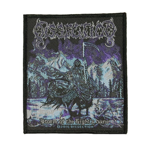 Dissection Storm of the Light's Bane Patch Metal Band Woven Sew On Applique