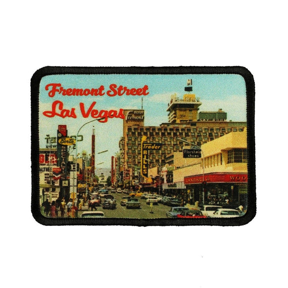 Fremont Street Las Vegas Patch Nevada Travel Dye Sublimation Iron On Applique