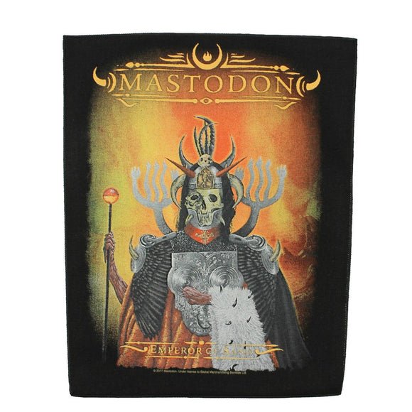 XLG Mastodon Emperor of Sand Back Patch Heavy Metal Band Jacket Sew on Applique