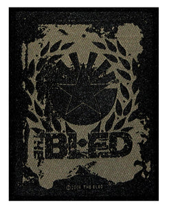 The Bled Band Name & Logo Patch Hardcore Metal Music Woven Sew On Applique