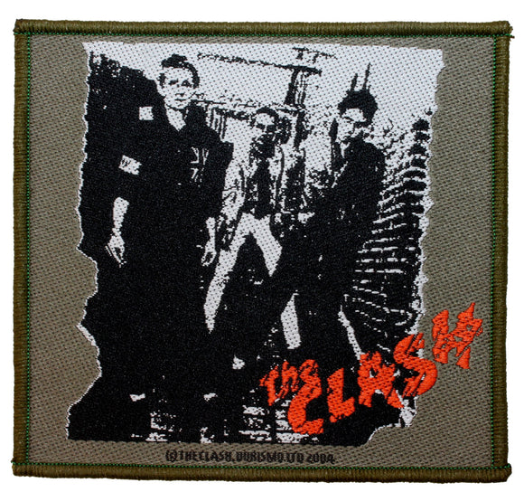 The Clash Eponymous Patch Album Cover UK Punk Rock Band Woven Sew On Applique