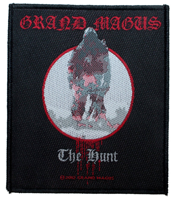 Grand Magus The Hunt Patch Album Cover Heavy Metal Band Woven Sew On Applique