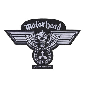 Motorhead Hammered Cut Out Patch War Pig Medal Heavy Metal Woven Sew On Applique