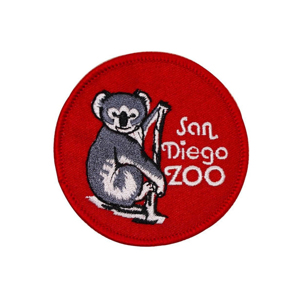 San Diego Zoo Koala Patch California Travel Park Embroidered Iron On Applique