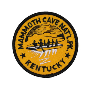 Mammoth Cave National Park Patch Kentucky Travel Embroidered Iron On Applique