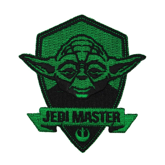 Disney Star Wars Yoda Jedi Master Patch Officially Licensed Iron-On Applique