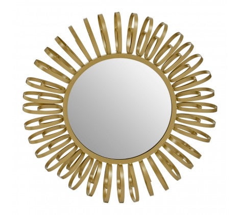Multi Ring Design Wall Mirror