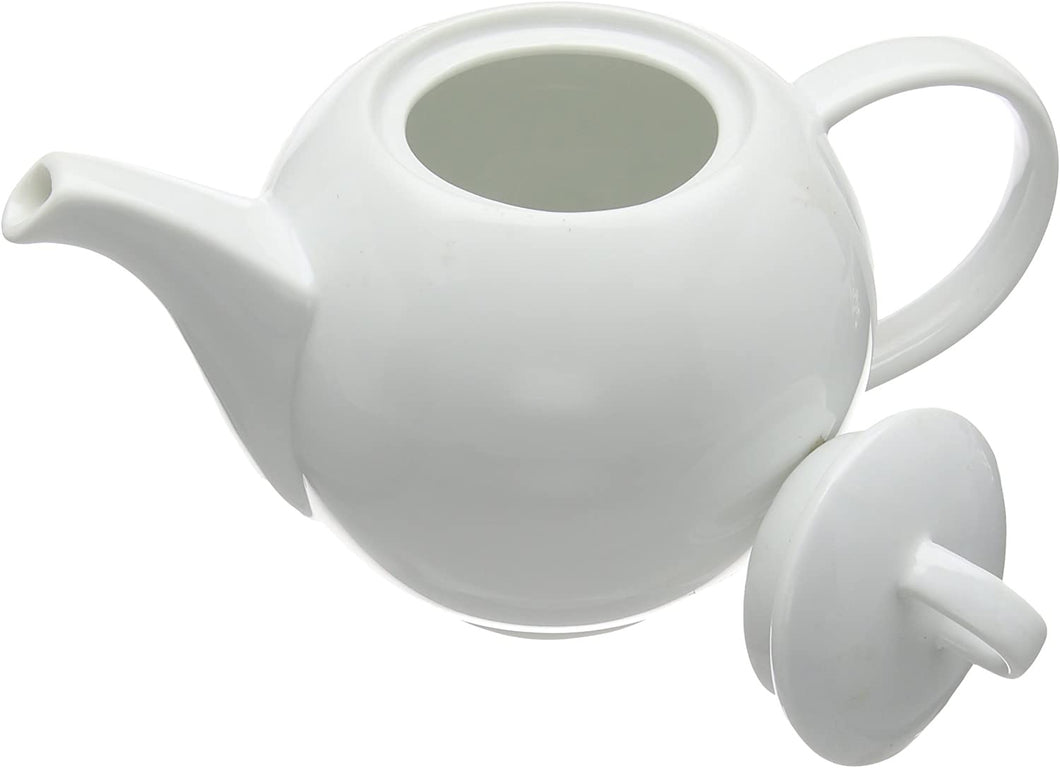 Price and Kensington Simplicity Teapot, White, 900 ml