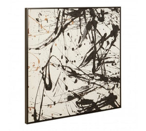 Astratto Black / White Wall Art
