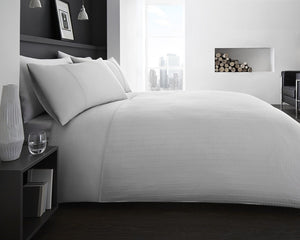 Ontario White Duvet Set