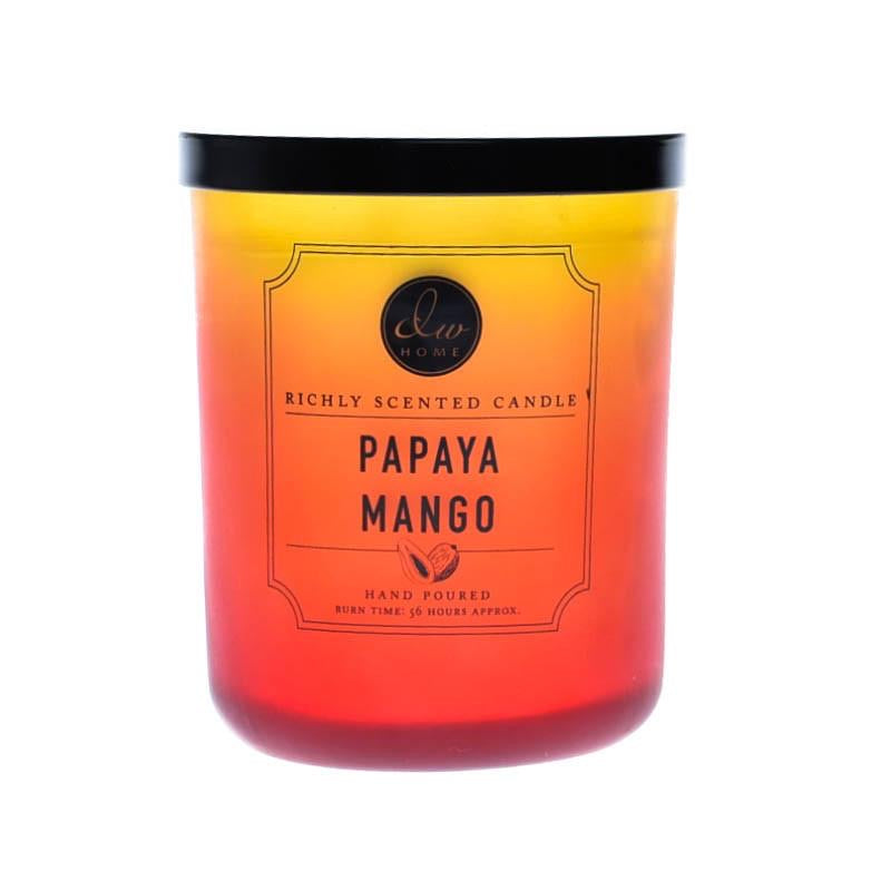PAPAYA MANGO RICHLY SCENTED CANDLE