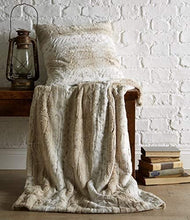 Load image into Gallery viewer, Luxurious Faux Fur Throw 200x200cm