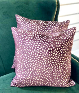 Wilder Violet Cushion 43 x 43