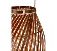 Load image into Gallery viewer, Hanoi Lantern Natural Bamboo / Glass Insert