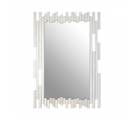 Cut Out Frame Wall Mirror