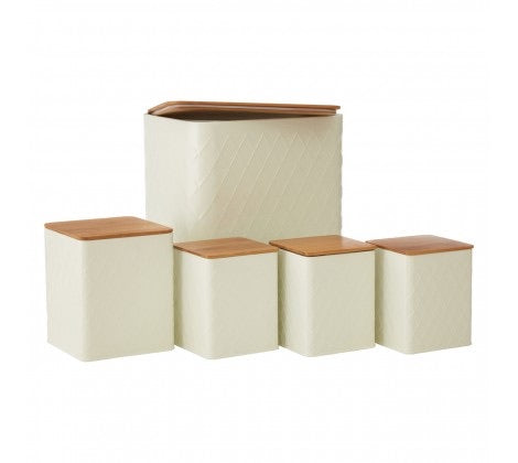 5Pc Rhombus Storage Set
