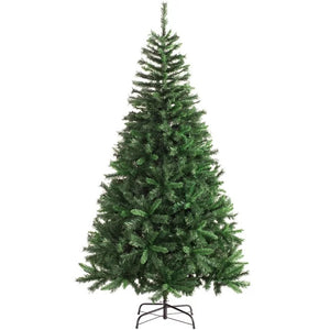7ft Green Pine Artificial Christmas Tree with Stand