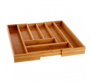 Rectangular Expandable Cutlery Tray