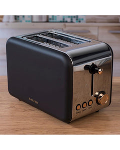 Salter Rose Gold Edition 2 Slice Toaster