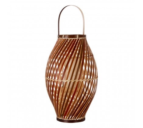 Hanoi Lantern Natural Bamboo / Glass Insert