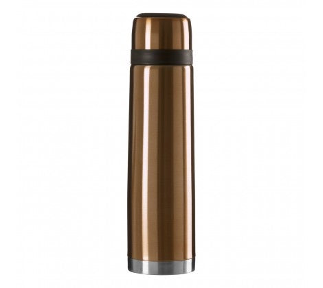 Vacuum Flask With Gold Finish